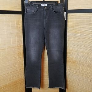 🚨NEW LIST! Free People Raw Hem Straightleg Jeans